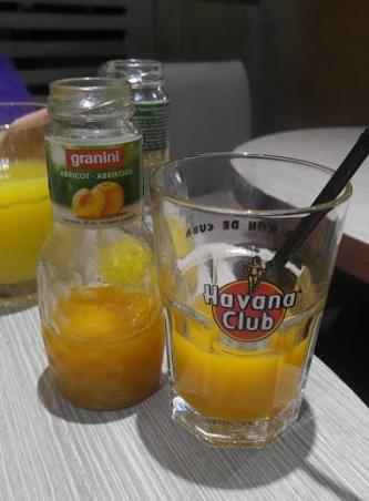 sweet apricot juice